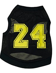 Stylish No. 24 jersey Vest for Pets Dogs(Assorted Size)
