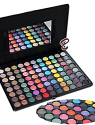 Professional 88 Color Bright Makeup Eye Shadow Palette with Mirror/Brush