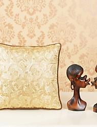 AOMAO ® 16 'Brocade plantas e flores Multipurpose Silk Almofada colcha e travesseiro