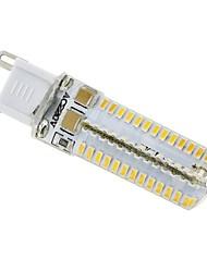 4W G9 LED Spot Lampen / LED Mais-Birnen T 104 SMD 3014 300 lm Warmes Weiß AC 220-240 V