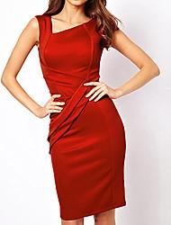Women's Dresses , Chiffon/Cotton/Organza/Polyester Sexy/Bodycon/Casual/Lace MIUSOL