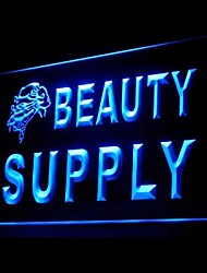 BEAUTY SUPPLY Advertising LED Light Sign
