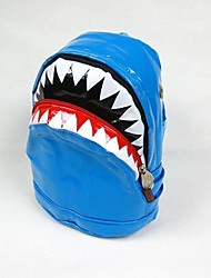 Girl's Boy's Children's Shark shape backpack schoolbag