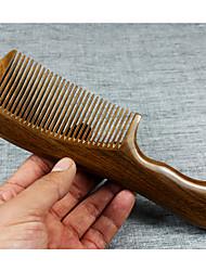 Natural Palo Santo de madeira Pente Cuidados com os cabelos