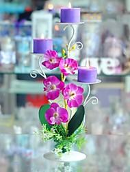 сельской местности романтический фиолетовый канделябр