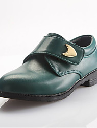 Leather Boy's Wedding Flat Heel Comfort Loafers Shoes(More Colors)
