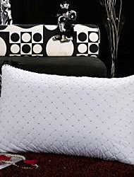 shuian® Consolador retangular compressão ventilação saudável pluma de veludo travesseiro