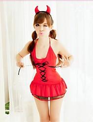 Sexy Little Red diable l'uniforme des femmes avec Chapeaux