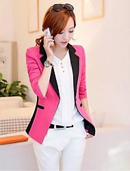 Women's Dress Shirts , Chiffon/Cotton/Cotton Blend/Denim/Organza/Others Casual CHAOLIU