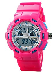 Children Dual Time Zones Multifunction LED Digital Sports Wrist Watch 50m Waterproof (Assorted Colors)