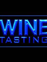 publicidad cata de vinos llevó la muestra de la luz