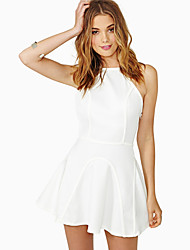 SouthStore Sexy Splice Strapless Fitted Dress