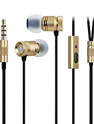 GGMM® Nightingale In–Ear Phones Noise Cancelling Stereo Metal Headphones Earbuds for iPhone5/6 iPad S3 EJ00202