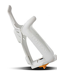 YELVQI Mountain Bike Plástico Branco Bottle Cage