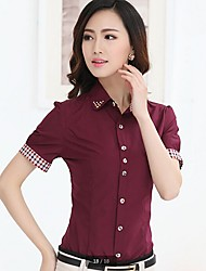 Women's Tops & Blouses , Cotton Blend Casual Fangyage