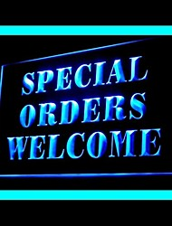 Speical Ordem de Publicidade personalizada LED Sign