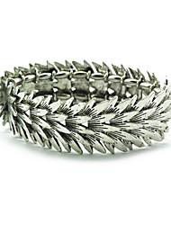Vintage Look Antique Silver Lead-tin Alloy Bracelet