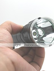 LT-FSCM61 AA7075 Made 5 Modes 1xCree XML T6 UCL Lens Led Flashlight(1000LM.1x26650/1x18650.Black)