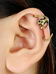Men's Vintage Gecko Ear Cuff