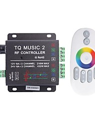 TQ Music 3-Channel LED Controller  RF Music Controller RGB Audio Controller (DC12-24V)