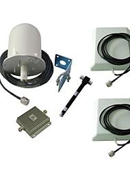 3G-Handy-Signal-Repeater Booster 850MHz Verstärker 2100MHz Außen Omni Antenne + 2 x Innenantenne