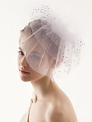 Four Tier Wedding Blusher Veil