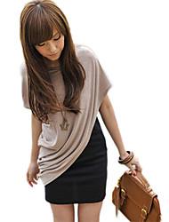 Contraste CoCo Mujeres Zhang color de dos piezas de igual Dulce Vestido