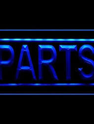 Papts Motorcycle Advertising LED Light Sign