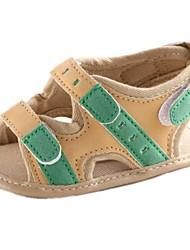Talón talón plano de los niños y Primeras Walker Sandalias con cinta Magic Shoes
