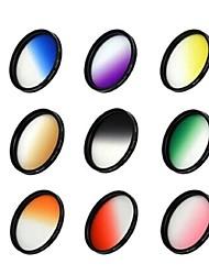52mm lunettes filtre de lentille pour caméra gradient