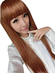 Girl Fashion Straight Synthetic Full Bang Wigs