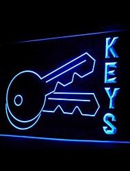 For Keys Advertising LED Light Sign