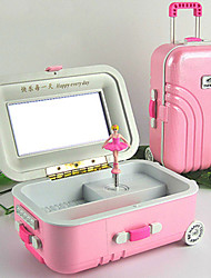 For Elise Rotate Ballet Girl Luggage Music Box
