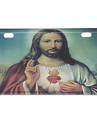 Лицензия мотоцикл пластина - Иисус - 1