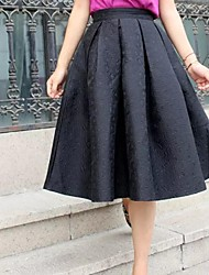 Women's Vintage Jacquard Posed Skirts On Restoring Ancient Ways