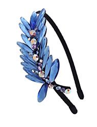 Blue Crystal Haarband für Frauen mit Diamant