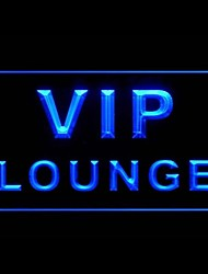 VIP Lounge Bar Advertising LED Light Sign
