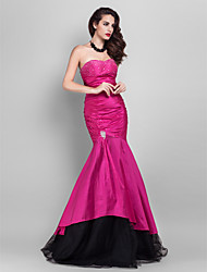TS Couture Prom Formal Evening Military Ball Dress - Open Back Celebrity Style Trumpet / Mermaid Strapless Sweetheart Floor-lengthTaffeta
