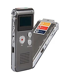 4GB Rechargeable USB Sound Control Digital Voice Recorder Dictaphone MP3 Player -Gray