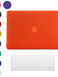 Frosted Surface Design PC Hard Case with Keyboard Cover Skin for MacBook Retina(Assorted Colors)