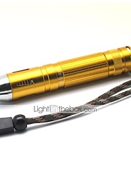 LT-HJ0856 Jade Detector 2 Modes 1xCree XML T6 Led Flashlight(1000LM.1x18650.Golden)