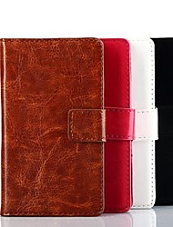 Solid Color PU Leather Case for Nokia 520