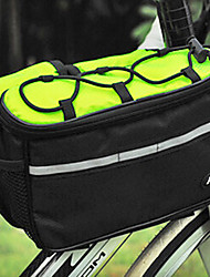 Bike Frame Bag / Cycle Bags Multifunctional Cycling/Bike Polyester Green NUCKILY