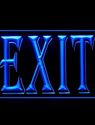 Exit Luminescent Advertising LED Light Sign