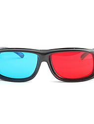 m&k High-Definition-rot blau Myopie Klemmstück Klagen der 3D-Brille für Computer-und TV (3 Stück)