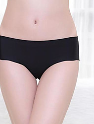 Women Seamless , Elastic/Ice Silk Panties