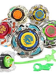 AULDEY Hurricane Metal Fight Beyblade 3 Section of Gear Gyro Toy