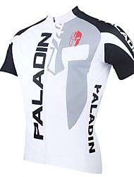 PaladinSport Men's Cycling Jersey Short Sleeve The Knight Spring and Summer Style  100% Polyester