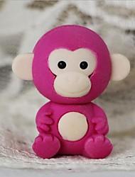 милый съемный маленькая обезьянка в форме ластик (случайный цвет х 2 шт)