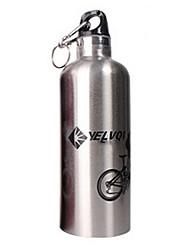 Bouteille vide Nyelvqi 750ML double en acier inoxydable de ruban Bike eau